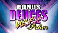 игровой аппарат Bonus Deuces Wild